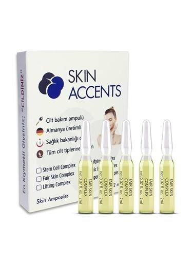 Skin Accents Skin Accents Leke Giderici Aydınlatıcı Ampul - Fair Skin Complex Renksiz